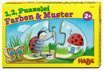 Haba 1,2, Puzzelei Farben & Muster