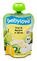 babylove Fruchtpüree Kiwi & Banane in Birne