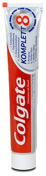 Colgate Komplett 8 Zahncreme Ultra Weiss