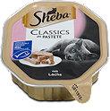 Sheba Classics Katzenfutter mit Lachs in Pastete