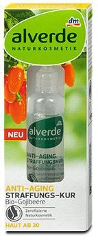 alverde Anti-Aging Straffungs-Kur Bio-Gojibeere