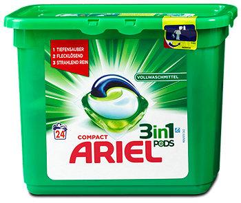 Ariel Compact 3in1 Vollwaschmittel Pods
