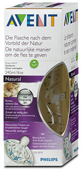Philips Avent Glasflasche Natural