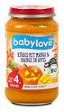 babylove Fruchtbrei Kürbis mit Mango & Orange in Apfel