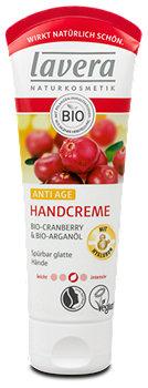 lavera Anti-Age Handcreme Cranberry & Arganöl