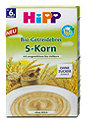 Hipp Bio-Getreidebrei 5-Korn