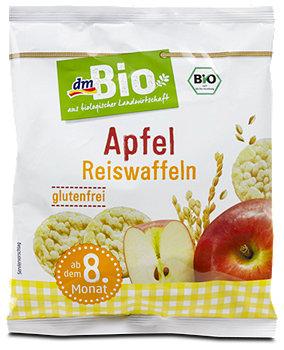 dmBio Reiswaffeln Apfel