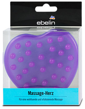 ebelin Massage-Herz sort.