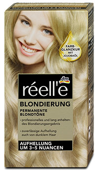 réell'e Blondierung