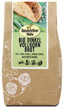 Rosenfellner Mühle Bio Dinkelvollkornbrot Backmischung
