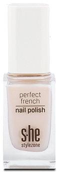 s.he stylezone perfect french nail polish Nagellack