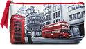 Schminktasche Paris- & Londonstyle sort.