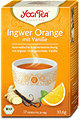 Yogi Tea Ingwer Orange Tee