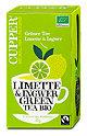 Cupper Grüner Tee mit Limette & Ingwer