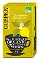Cupper Zitronentee mit Ingwer