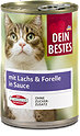 Dein Bestes Katzenfutter mit Lachs & Forelle in Sauce