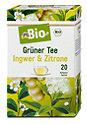 dmBio Grüner Tee Ingwer & Zitrone