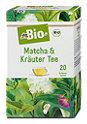 dmBio Matcha & Kräuter Tee