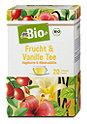 dmBio Frucht & Vanille Tee Hagebutte & Hibiskusblüte
