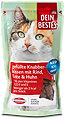 Dein Bestes Katzensnack gefüllte Knabberkissen Rind, Ente & Huhn