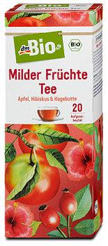 dmBio Milder Früchte Tee
