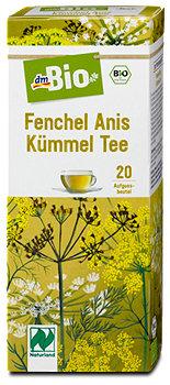 dmBio Fenchel Anis Kümmel Tee