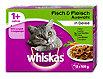 whiskas 1+ Jahre Katzenfutter Fisch & Fleisch Auswahl