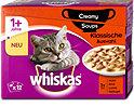 whiskas 1+Jahre Katzenfutter Creamy Soups Klassische Auswahl