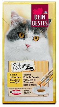 Dein Bestes Schnurr cremiger Katzensnack