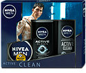Nivea Men Pflegeset Active Clean