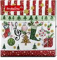 Profissimo Motiv-Servietten Weihnachtsband