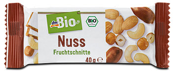 dmBio Fruchtschnitte Nuss