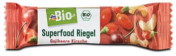 dmBio Superfood Riegel Gojibeere Kirsche