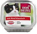 Dein Bestes Katzenfutter klassisch mit Rind