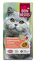 Dein Bestes Katzensnack Leberwurst-Creme