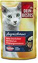 Dein Bestes Augenschmaus Katzenfutter Rind an Sauce