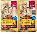 Dein Bestes Katzensnack  BBQ Knabberstäbchen mit Hähnchen