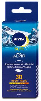 Nivea Sun Alpin Sonnencreme fürs Gesicht LSF 30