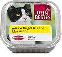 Dein Bestes Katzenfutter klassisch mit Geflügel & Leber