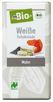 dmBio Weiße Schokolade Mohn