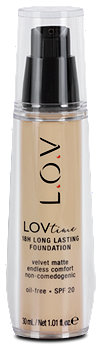 L.O.V LOVtime Foundation 18H Long Lasting