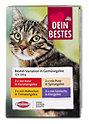 Dein Bestes Katzenfutter Beutel-Variationen in Gemüsegelee