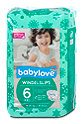 babylove Windelslips Gr. 6 (18-30 kg) Winter Edition