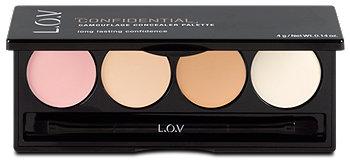 L.O.V Confidential Camouflage Concealer Palette