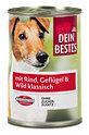 Dein Bestes Hundefutter mit Rind Geflügel & Wild