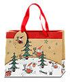 Profissimo Geschenktasche Weihnachtsmann/Rentier sort.
