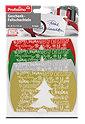 Profissimo 4er Geschenk-Faltschachteln Frohe Weihnachten