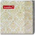 Profissimo Serviette Ornamente gold/taupe