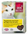 Dein Bestes Katzenfutter Knuspermix mit Frischgeflügel, Ente & Huhn