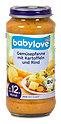 babylove Babymenü Gemüsepfanne mit Kartoffeln und Rind